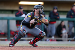 CARY, NC - MARCH 03: Maryland's Nick Cieri. The University of Maryland Terrapins played the University of Notre Dame Fighting Irish on March 3, 2017, at USA Baseball NTC Stadium Field in Cary, NC in a Division I College Baseball game, and part of the Irish Classic tournament. Maryland won the game 4-3.