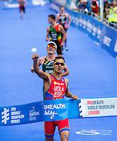 ITU 2014 World Triathlon Series - London