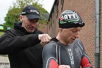 BK PLOEGENTRIATHLON IN DOORNIK :<br /> Ploeg Aarschot Triathlon Team<br /> met Steven Vuylsteke <br /> PHOTO SPORTPIX.BE / DIRK VUYLSTEKE