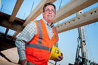 Gary Haydon, CEO of Haydon Construction started from scratch is company which builds many of the heavy civil construction in the valley including new bridges at Power and Williams Field Road designed to relieve a traffic bottleneck into the far southeast valley.