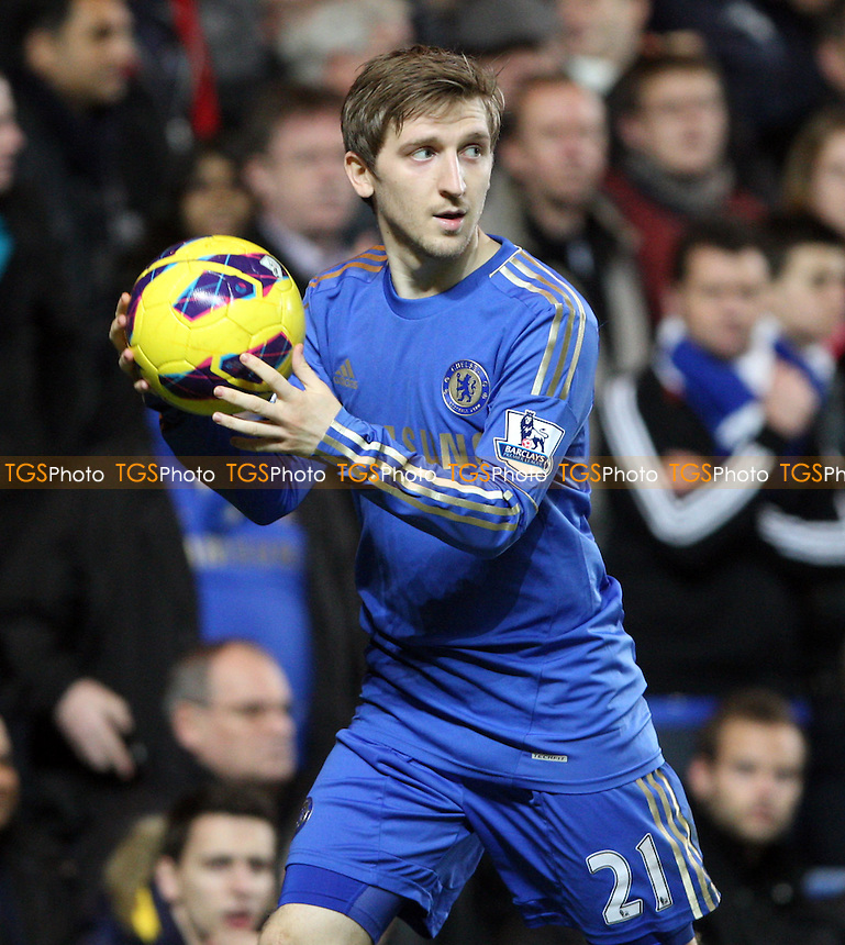 Marko Marin of Chelsea - Chelsea vs Queens Park Rangers, Barclays Premier League at Stamford Bridge, Chelsea - 02/01/13 - MANDATORY CREDIT: Rob Newell/TGSPHOTO - Self billing applies where appropriate - 0845 094 6026 - contact@tgsphoto.co.uk - NO UNPAID USE.