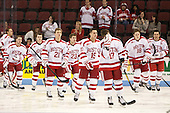 - The visiting Bentley University Falcons defeated the Boston University Terriers 4-1 (EN) on Saturday, December 14, 2013, at Agganis Arena in Boston, Massachusetts.
