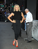 NEW YORK, NY-June 20: Taylor Schilling at Good Morning America  to talk about season 4 of NETFLIX's Orange Is The New Black in New York. NY June 20, 2016. Credit:RW/MediaPunch