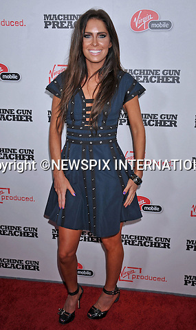 """GRACE JOHNSTON.attends Premiere of """"Machine Gun Preacher"""" at the Academy Theatre, Beverly Hills, Los Angeles_21/09/2011.Mandatory Photo Credit: ©Crosby/Newspix International. .**ALL FEES PAYABLE TO: """"NEWSPIX INTERNATIONAL""""**..PHOTO CREDIT MANDATORY!!: NEWSPIX INTERNATIONAL(Failure to credit will incur a surcharge of 100% of reproduction fees).IMMEDIATE CONFIRMATION OF USAGE REQUIRED:.Newspix International, 31 Chinnery Hill, Bishop's Stortford, ENGLAND CM23 3PS.Tel:+441279 324672  ; Fax: +441279656877.Mobile:  0777568 1153.e-mail: info@newspixinternational.co.uk"""