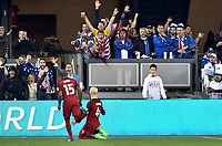 San Jose, CA - March 24, 2017: The U.S. Men's National team go on to defeat Honduras 6-0 with Michael Bradley adding a goal during their 2018 FIFA World Cup Qualifying Hexagonal match at Avaya Stadium.