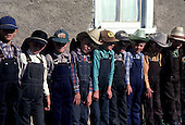 = Mexican menonites Children at school.  Ciudad Ghautemoc  Mexico    +