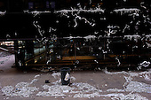 New York, New York<br /> February 7, 2012<br /> <br /> Ticker-tape covers the Equitable Life Building on Broadway.