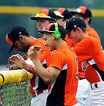 7-12-15, Michigan Renegades U18 baseball team in action - Northville
