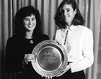 Date Unknown: Jennifer Azzi (basketball), Debbie Graham (tennis).