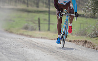red&amp;blue<br /> <br /> Team AG2R-LaMondiale during the 2017 Strade Bianche recon (the day before the race)