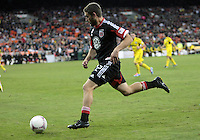 WASHINGTON, DC - OCTOBER 20, 2012:  Chris Kolb (22) of D.C United against the Columbus Crew during an MLS match at RFK Stadium in Washington D.C. on October 20. D.C United won 3-2.