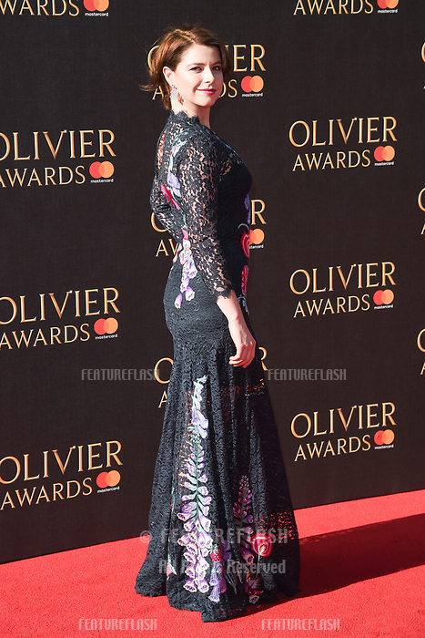 Jessie Buckley at The Olivier Awards 2017 at the Royal Albert Hall, London, UK. <br /> 09 April  2017<br /> Picture: Steve Vas/Featureflash/SilverHub 0208 004 5359 sales@silverhubmedia.com