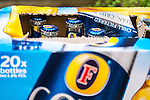 Bottles of Fosters Lager - Aug 2013.