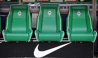 FUSSBALL   1. BUNDESLIGA   SAISON 2011/2012    16. SPIELTAG SV Werder Bremen - VfL Wolfsburg          10.12.2011 Ersatzbank SV Werder Bremen