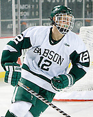 Matt Leer (Babson - 12) - The Norwich University Cadets defeated the Babson College Beavers 4-1 on Friday, January 13, 2011, at Fenway Park in Boston, Massachusetts.