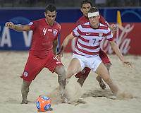 USMNT Beach Soccer vs. Tahiti, Saturday, September 21, 2013