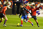 Football Liga BBVA. Osasuna vs Atletico de Madrid. 30/01/2012