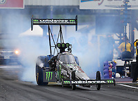 Apr 29, 2016; Baytown, TX, USA; NHRA  top fuel driver Brittany Force during qualifying for the Spring Nationals at Royal Purple Raceway. Mandatory Credit: Mark J. Rebilas-USA TODAY Sports