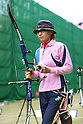 Sayami Matsushita (JPN), .April 22, 2012 - Archery : .Archery Japan National Team Selection match for The World Cup Ogden 2012 .at JISS Archery Field, Tokyo, Japan. .(Photo by Daiju Kitamura/AFLO SPORT) [1045]