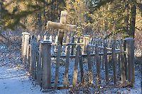 Wiseman cemetery, Wiseman, Alaska.
