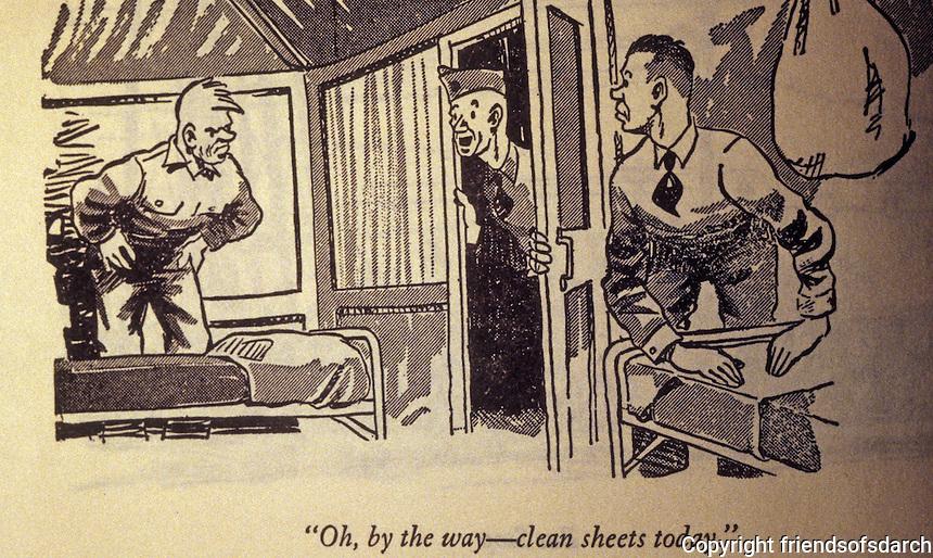 Technology:  Bill Mauldin, Early cartoon.