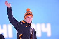 OLYMPICS: SOCHI: Adler Arena, 20-02-2014, Huldiging Ladies' 5000m, ©photo Martin de Jong