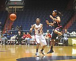 "Ole Miss' Valencia McFarland (3) at the C.M. ""Tad"" Smith Coliseum in Oxford, Miss. on Thursday, November 18, 2010. Arizona won 72-70."