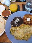 Brunch at the South Congress Cafe, Austin, Texas, TX, USA