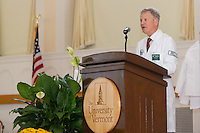 Dean Rick Morin, M.D. Class of 2017 White Coat Ceremony.