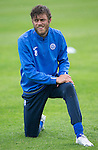 St Johnstone Training&hellip;22.07.16<br />Murray Davidson pictured during training this morning at McDiarmid Park ahead of tomorrows Betfred Cup game against Falkirk.<br />Picture by Graeme Hart.<br />Copyright Perthshire Picture Agency<br />Tel: 01738 623350  Mobile: 07990 594431