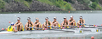 Ottensheim, AUSTRIA.  AUS LM8+, Heat 1 of the lightweight men's eights,  as they move away from the start in their morning heat, at the 2008 FISA Senior and Junior Rowing Championships,  Linz/Ottensheim. Tuesday,  22/07/2008.  [Mandatory Credit: Peter SPURRIER, Intersport Images] Rowing Course: Linz/ Ottensheim, Austria