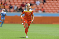 Houston, TX - Saturday April 15, 2017: Rachel Daly during a regular season National Women's Soccer League (NWSL) match won by the Houston Dash 2-0 over the Chicago Red Stars at BBVA Compass Stadium.