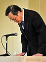 Olympus Press Conference with President Shuichi Takayama