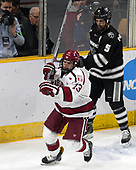 Nathan Krusko (Harvard - 13), Kyle McKenzie (PC - 5) - The Harvard University Crimson defeated the Providence College Friars 3-0 in their NCAA East regional semi-final on Friday, March 24, 2017, at Dunkin' Donuts Center in Providence, Rhode Island.