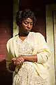 London, UK. 21.06.2013. FENCES, by August Wilson, opens at the Duchess Theatre, in London's West End, following a successful run at Theatre Royal Bath. Lenny Henry takes on the lead role of Troy Maxson in, this production, which is directed by Paulette Randall. Picture shows: Tanya Moodie (Rose). Photograph © Jane Hobson.