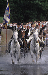 Braw Lads Gathering Galashiels Selkirkshire Scotland. The annual Riding of the Parish Bounds each  June 30th.