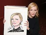 Blanchett and Roxburgh Sardi's portraits unveiled