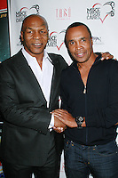 Mike Tyson and Sugar Ray celebrate the official launch of Mike Tyson Cares Foundation - Las Vegas