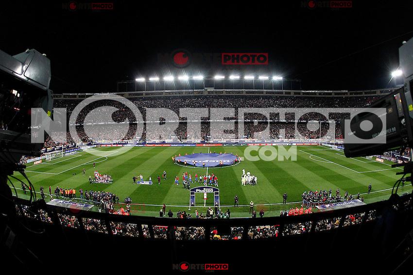 Vicente Calderon Stadium during Atletico de Madrid vs Real Madrid during La Liga match. November 19,2016. (ALTERPHOTOS/Acero) /NORTEPHOTO.COM