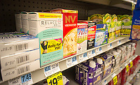 A selection of dietary aids from various brands is seen in a drugstore in New York on Sunday, December 22, 2013.  A recent study reported the dietary supplements are responsible for almost 20 percent of liver injuries that are drug related. (© Richard B. Levine)