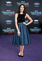 """HOLLYWOOD, CA - April 19: Mallory Jansen, At Premiere Of Disney And Marvel's """"Guardians Of The Galaxy Vol. 2"""" At The Dolby Theatre  In California on April 19, 2017. Credit: FS/MediaPunch"""