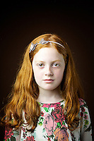 Natasha McDonald, 7, schoolgirl, from Stirling.<br /> <br /> 'I once dressed up as Mary Queen of Scots for the castle in Stirling and all these Japanese tourists came up. I was signing autographs and they were curtseying.'<br /> <br /> 'It makes you feel slightly different, you stand out a little.  All my hairspray glitters blend and it looks pretty with any colour which my friends can&rsquo;t. I am the only red haired girl in class. I feel different which is a good thing.'