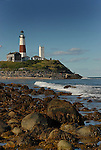 Montauk Point Lighthouse Museum 1796, New York Eastern Tip of Long Island. ..Fourth  oldest lighthouse in the United States