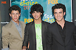 Jonas Brothers at the Teen Choice 2009 Awards at Gibson Amphitheatre in Universal City, August 9th 2009..Photo by Chris Walter/Photofeatures