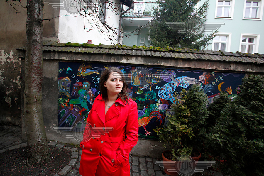 Krakow Poland March 1 2013 Oliwia Dabrowska 24 Who