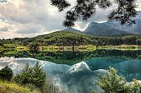 Lake Doxa in Feneos, Greece