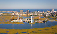 Jersey Atlantic Wind Farm and Waste Water Treatment Plant, Atlantic City, New Jersey