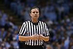 26 January 2015: referee Joe Lindsay. The University of North Carolina Tar Heels played the Syracuse University Orange in an NCAA Division I Men's basketball game at the Dean E. Smith Center in Chapel Hill, North Carolina. UNC won the game 93-83.