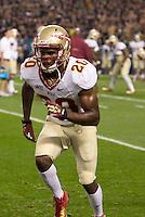 Florida State defensive back Lamarcus Joyner. Florida State defeated Pitt 41-13 at Heinz Field on September 2, 2013.