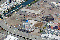 Aerial photograph Mission Bay construction San Francisco California